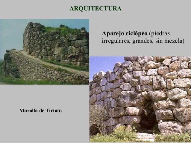 Ruinas del  megarón de  Micenas