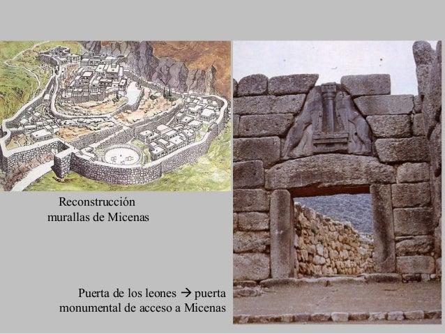 Restos del Megaron de Pilos