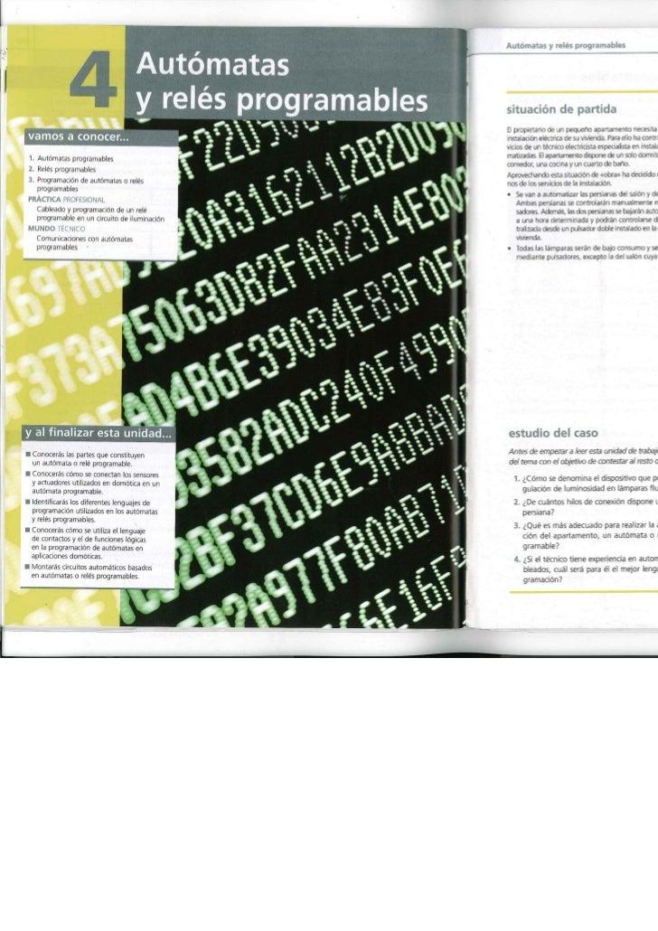 Cap.4: Relé Programable: LOGO