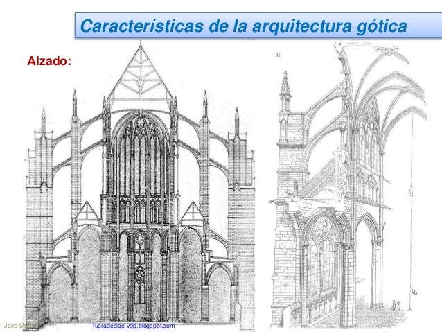 Ud 9 1 el arte g tico arquitectura - Alzado arquitectura ...