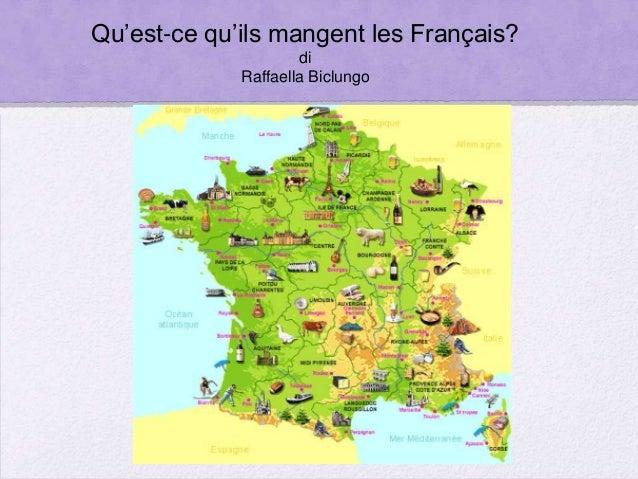 Qu'est-ce qu'ils mangent les Français? di Raffaella Biclungo