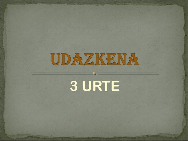 3 URTE