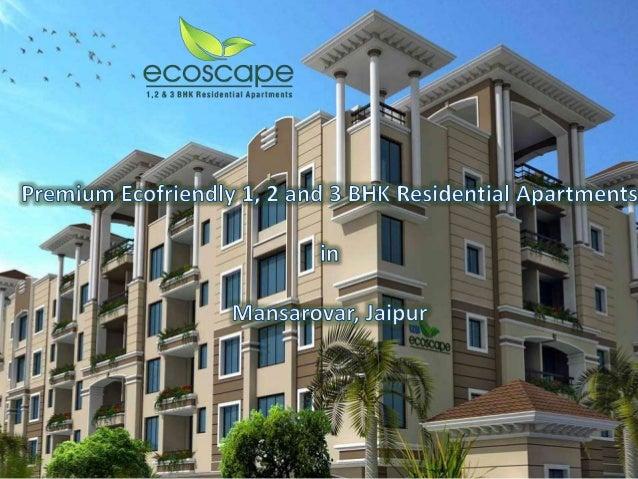 UDB Ecoscape Flats - Buy 1, 2 and 3 BHK Eco Friendly Residential Apar…