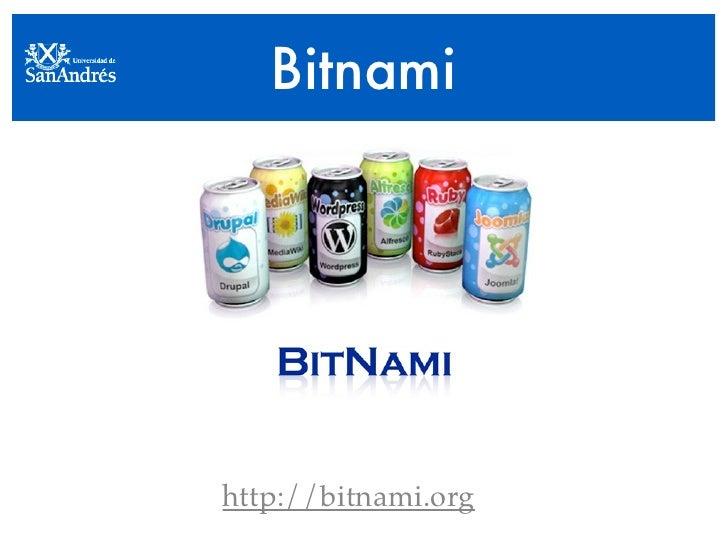 Bitnami     http://bitnami.org