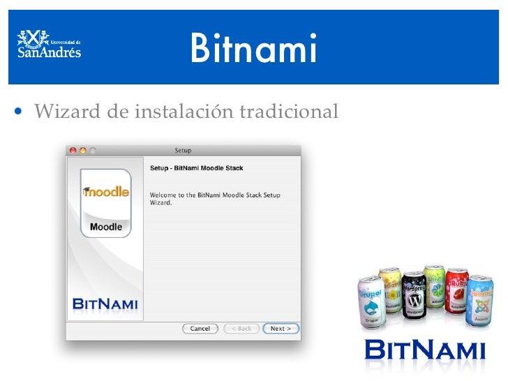Bitnami • Wizard de instalación tradicional