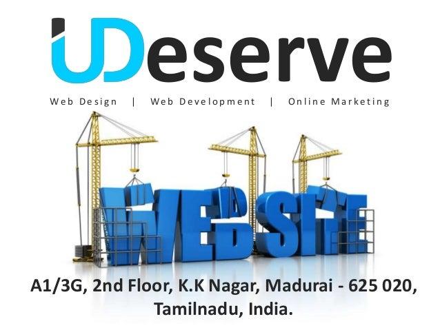 Web Des i gn   |                     eserve                     Web Devel op ment   |   Online MarketingA1/3G, 2nd Floor, ...