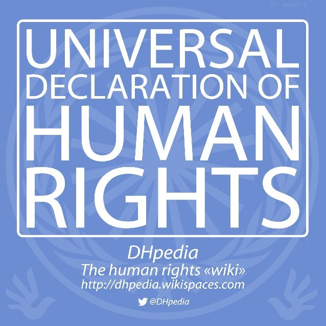 The Universal Declaration of Human Rights was written between January 1947 and December 1948 by an eightmember group from ...