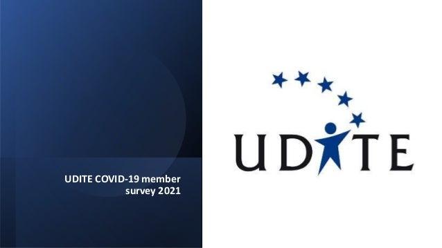 UDITE COVID-19 member survey 2021