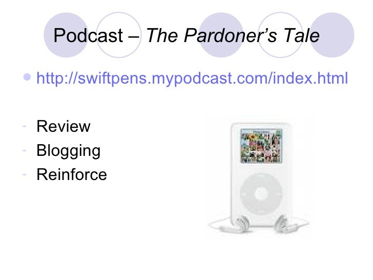 Moral lessons in pardoners tale
