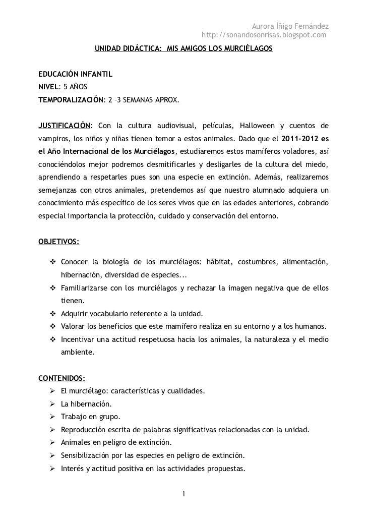 Aurora Íñigo Fernández                                                http://sonandosonrisas.blogspot.com                U...