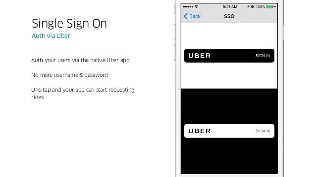 Provide the full Uber experience without ever leaving your app An entirely embedded experience, from request to drop off R...