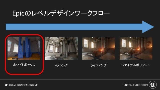 Unreal Engine 4を利用した先進的なゲーム制作手法 The Unreal Way 2016 https://youtu.be/tRSa7IarsgU