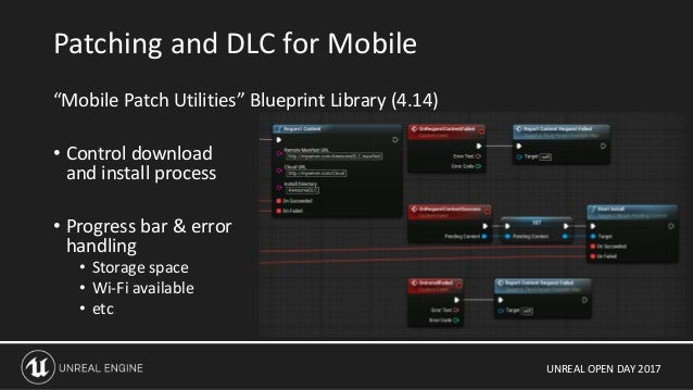 Unreal Open Day 2017 UE4 for Mobile: The Future of High Quality Mobil…