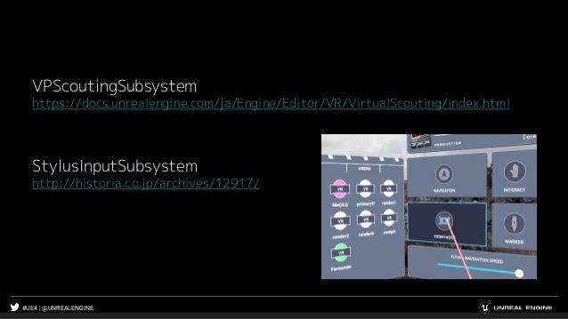 #UE4 | @UNREALENGINE VPScoutingSubsystem https://docs.unrealengine.com/ja/Engine/Editor/VR/VirtualScouting/index.html Styl...