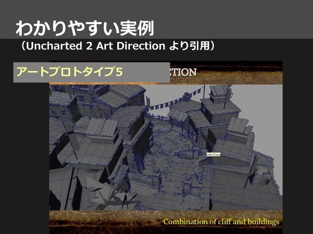 わかりやすい実例 (Uncharted 2 Art Direction より引用) アートプロトタイプ5