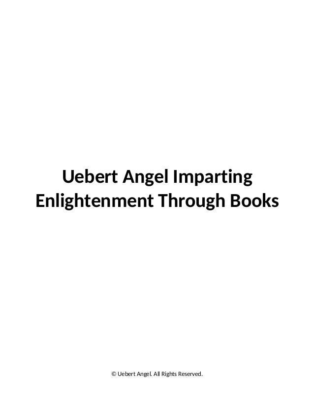 Uebert angel imparting enlightenment through books
