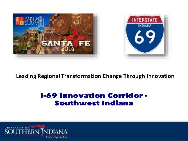 Leading Regional Transformation Change Through Innovation