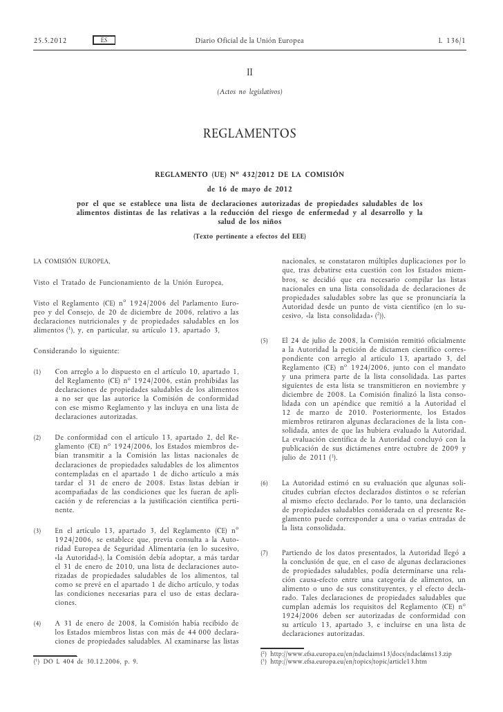 25.5.2012            ES                            Diario Oficial de la Unión Europea                                     ...