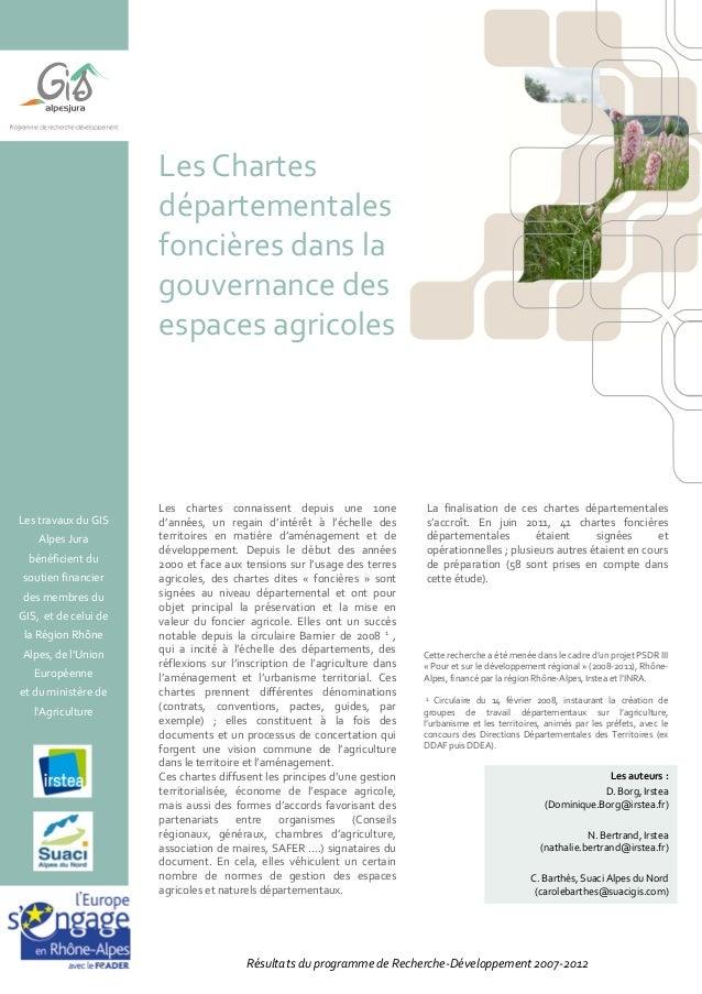Les travaux du GIS Alpes Jura bénéficient du soutien financier des membres du GIS, et de celui de la Région Rhône Alpes, d...