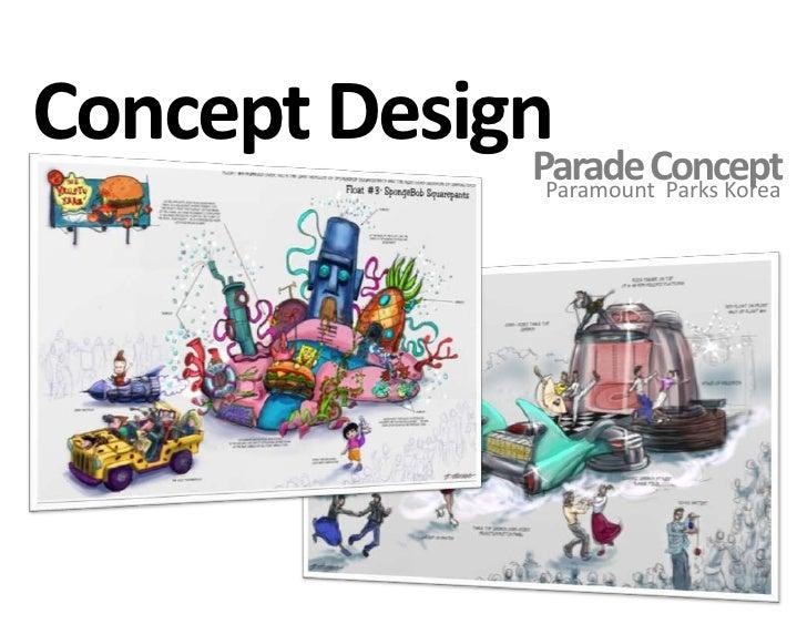 Character Design Portfolio Presentation : Utopia theme park presentation