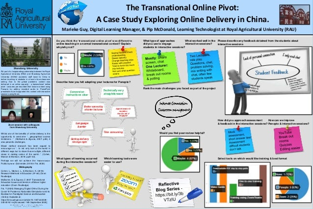 The Transnational Online Pivot: A Case Study Exploring Online Delivery in China. Marieke Guy, Digital Learning Manager, & ...
