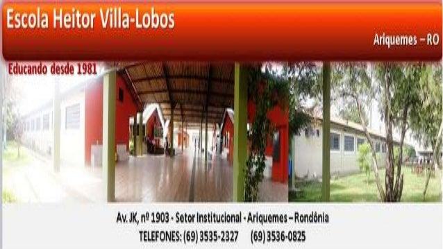 Escola estadual de Ensino Médio e Fundamental Heitor Villa Lobos Curso: Introdução à Educação Digital Tecnologias de massa...