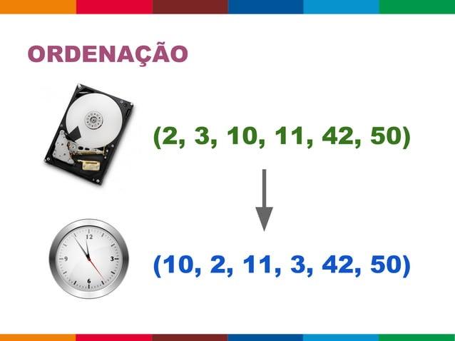 ORDENAÇÃO Como ordenar 100M+ inteiros em tempo hábil? Arrays.sort(data) ➜ ~5s