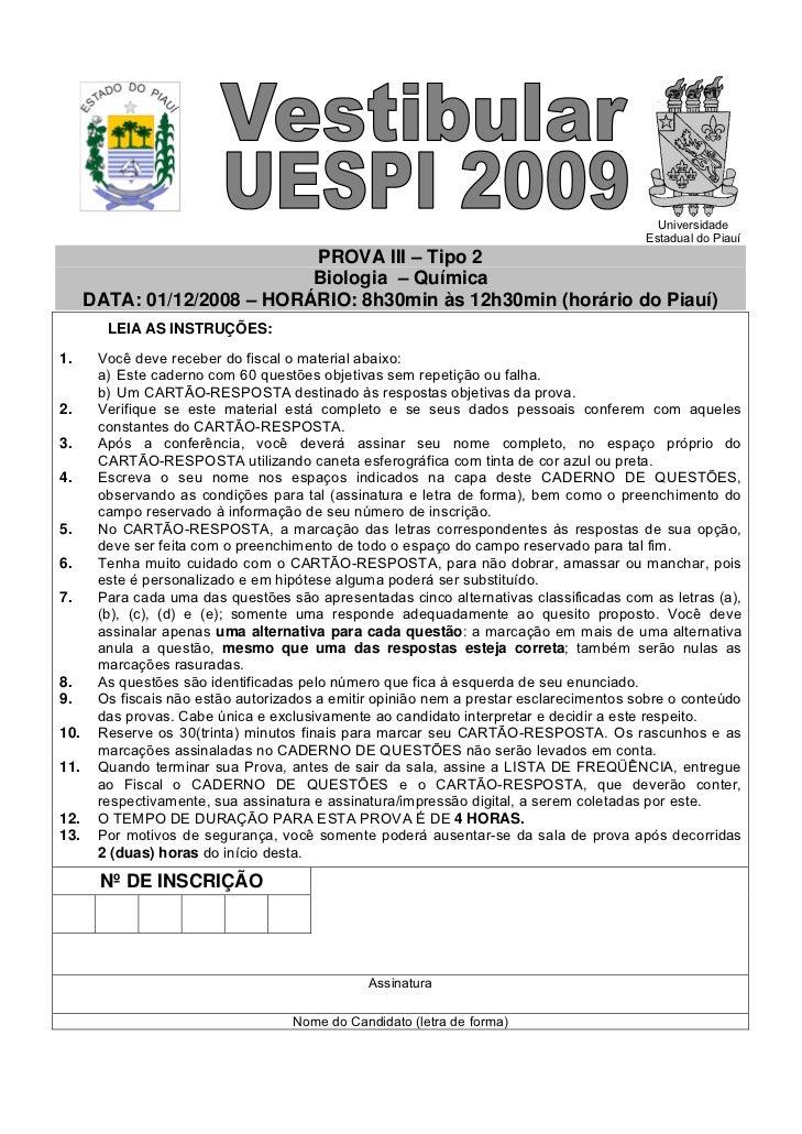 Universidade                                                                                            Estadual do Piauí ...