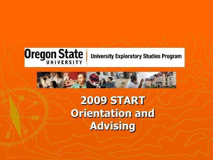 2009 START Orientation and Advising<br />