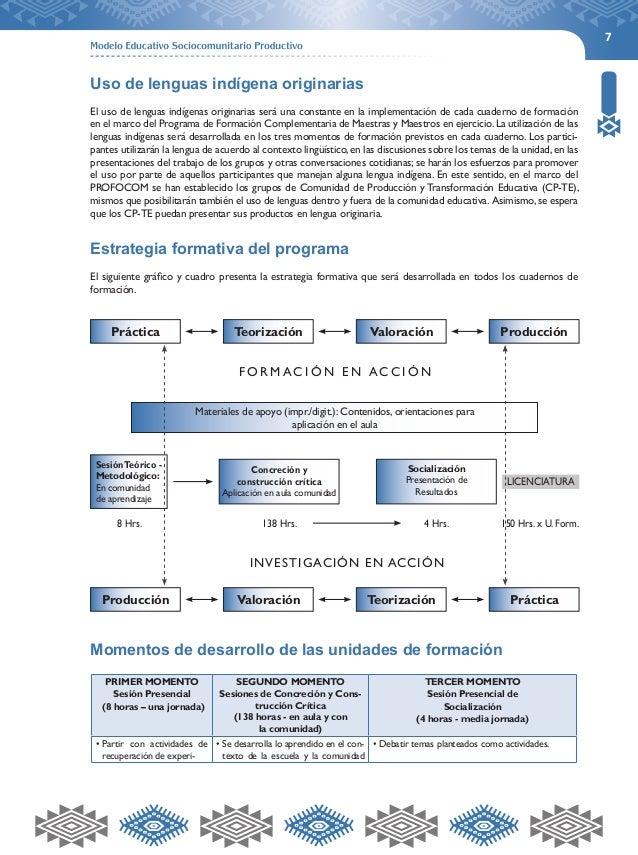 7  Uso de lenguas indígena originarias  El uso de lenguas indígenas originarias será una constante en la implementación de...