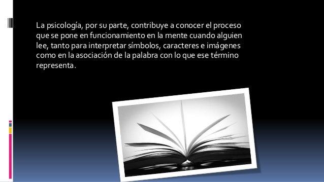 La fisiologíaOfrece la posibilidad de analizar y entender la capacidad de lectura del ser humano desde una perspectiva bio...