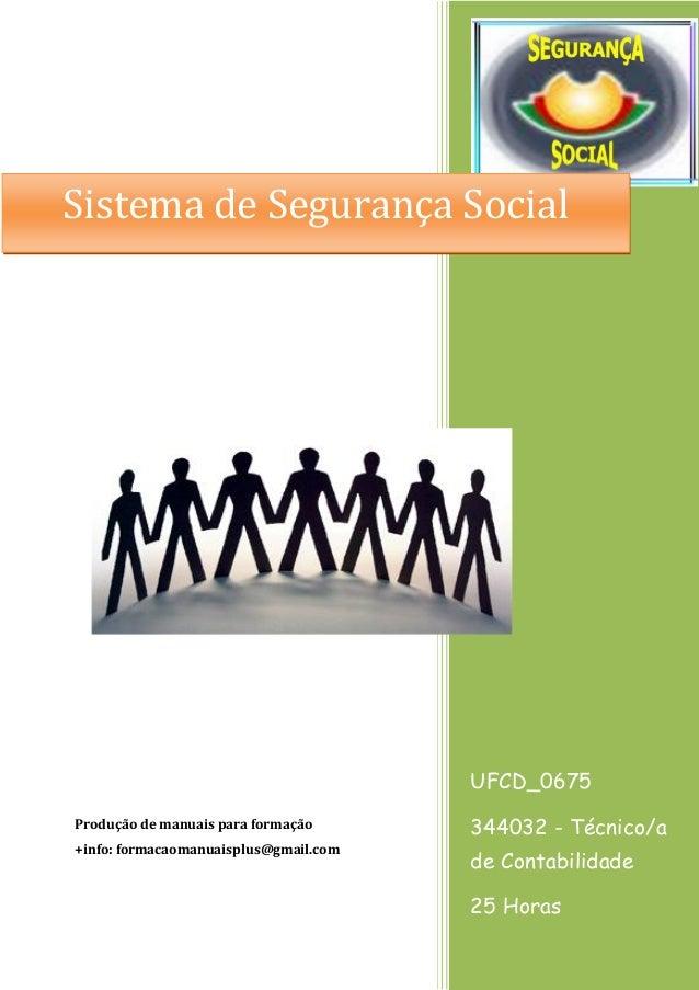 UFCD_0675 344032 - Técnico/a de Contabilidade 25 Horas Produção de manuais para formação +info: formacaomanuaisplus@gmail....