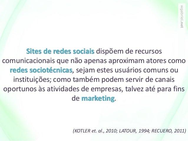 Sites de redes sociais dispõem de recursos comunicacionais que não apenas aproximam atores como redes sociotécnicas, sejam...