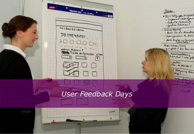 User Feedback Days