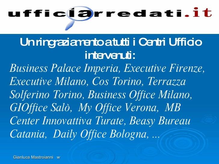 Uffici arredati presentazione vi riunione modena 21 for Uffici arredati bologna