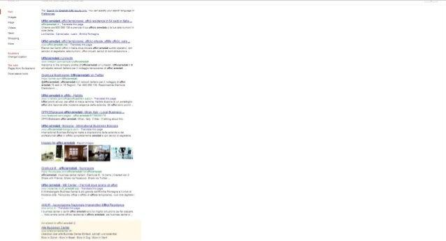 chiave uffici arredati in google ch