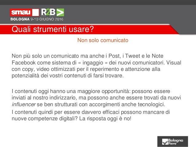 Ufficio stampa e Digital PR - Smau Bologna