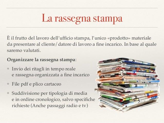 L Ufficio Stampa E La Comunicazione Strategica