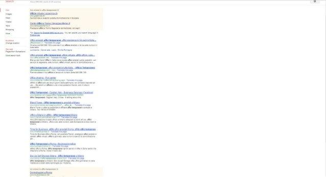 Chiave ricerca uffici temporanei da Google.Ch