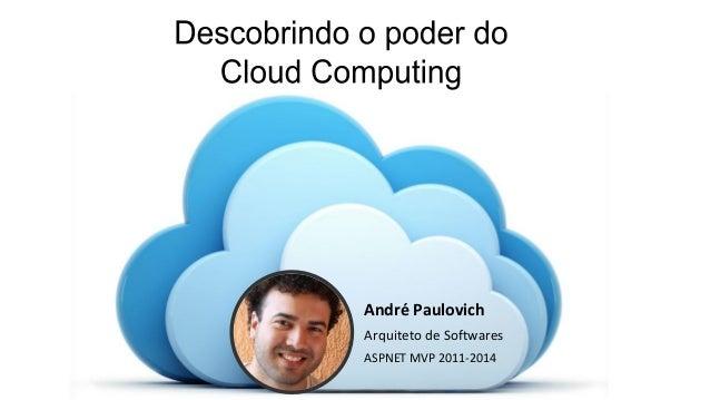 André Paulovich Arquiteto de Softwares ASPNET MVP 2011-2014