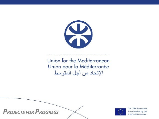 The UfM Secretariat is co-funded by the EUROPEAN UNION