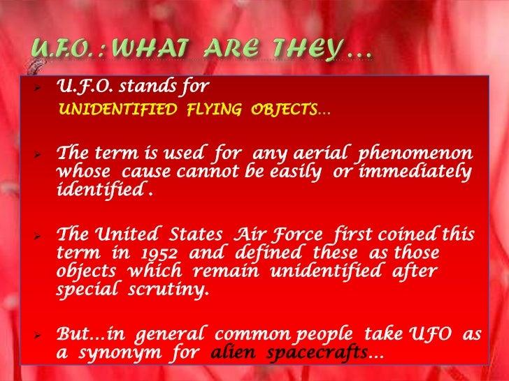 UFO & Aliens