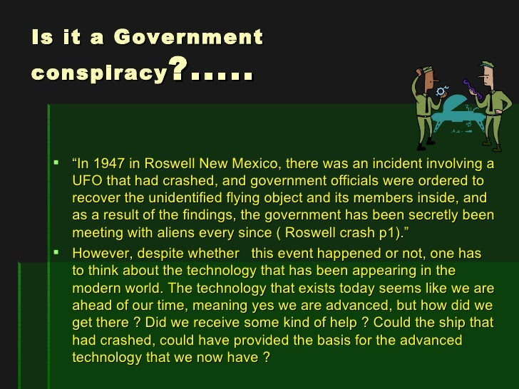 an analysis of the roswell incident and the crash of the unidentified flying object Roswell incident, events surrounding the crash and recovery of a us army air forces high-altitude balloon in 1947 near roswell, new mexico, which became the centre of a conspiracy theory involving ufos and extraterrestrials the us military fostered the intrigue by initially claiming that the recovered debris was from a.