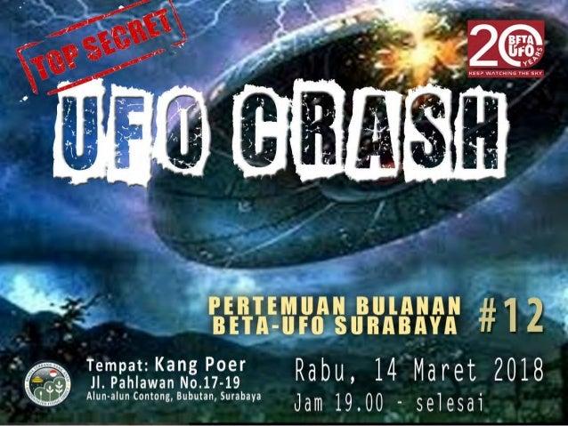 UFO Incident – UFO Crash BETA-UFO Indonesia