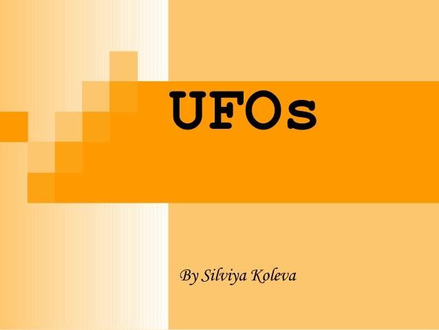 UFOsBy Silviya Koleva