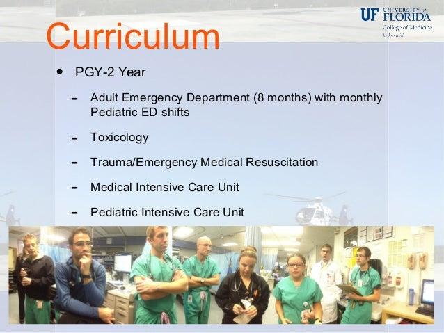 UF Jacksonville Emergency Medicine Residency