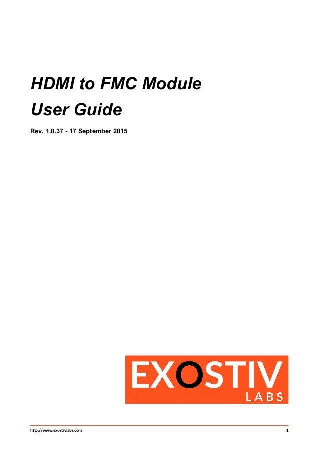 ug301 hdmi to fmc module rh slideshare net
