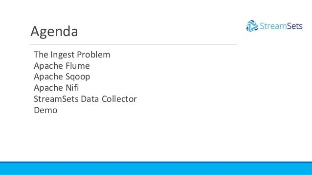 Open Source Big Data Ingestion - Without the Heartburn! Slide 2