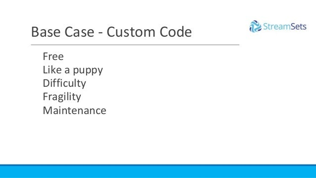 Free Like a puppy Difficulty Fragility Maintenance Base Case - Custom Code