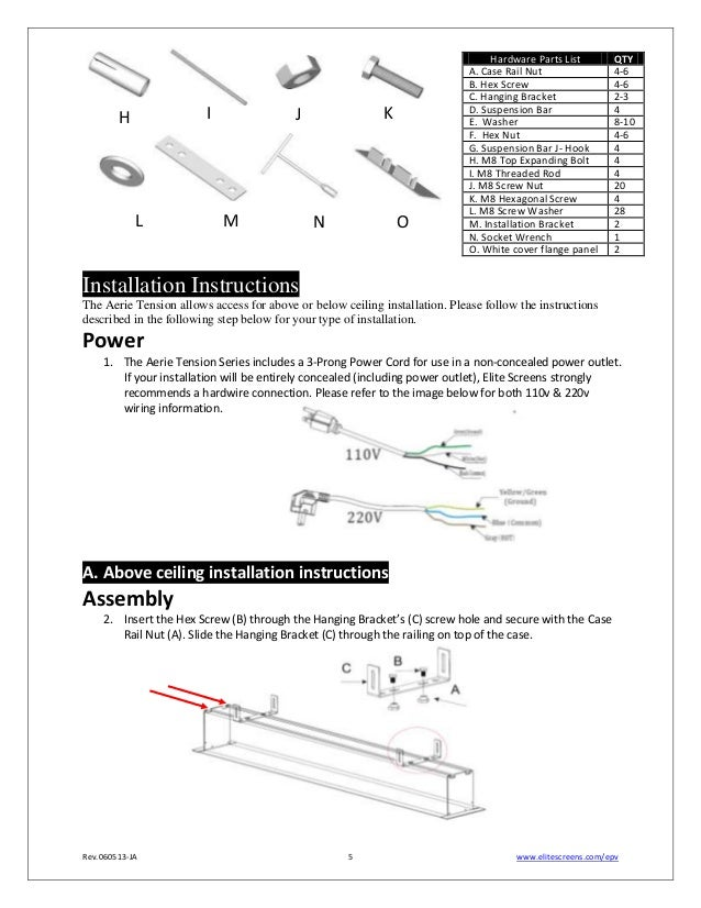 Home Projector Wiring Diagram : Wiring diagrams elite projector screen home theater